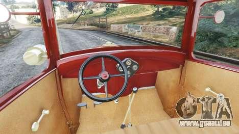 GTA 5 Ford Model A [mafia style] hinten rechts