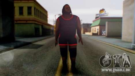 Mark He WWE pour GTA San Andreas deuxième écran