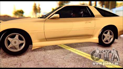 Toyota Supra MK3 Tunable pour GTA San Andreas vue de dessus
