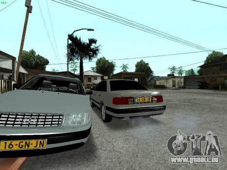 Audi 100 C4 1992 für GTA San Andreas Unteransicht