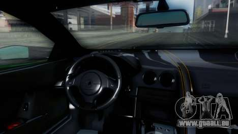Lamborghini Murcielago LP670-4 SV 2010 pour GTA San Andreas vue intérieure