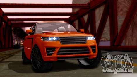 GTA 5 Gallivanter Baller LWB pour GTA San Andreas