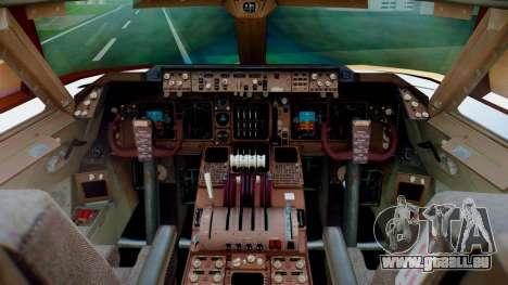 Boeing 747-400 Prototype (N401PW) pour GTA San Andreas vue arrière