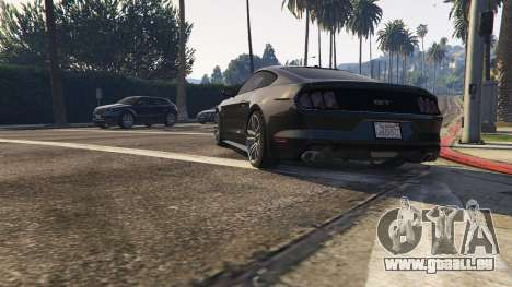 Ford Mustang GT 2015 v1.1 pour GTA 5