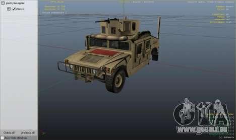 GTA 5 M1116 Humvee Up-Armored 1.1 Rad