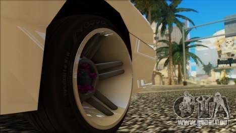 Elegy HellCat pour GTA San Andreas vue de dessus