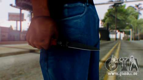 GTA 5 Bodyguard Switchblade für GTA San Andreas dritten Screenshot