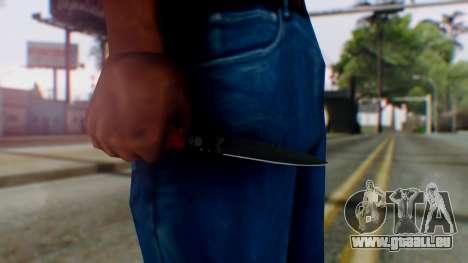 GTA 5 Bodyguard Switchblade pour GTA San Andreas troisième écran