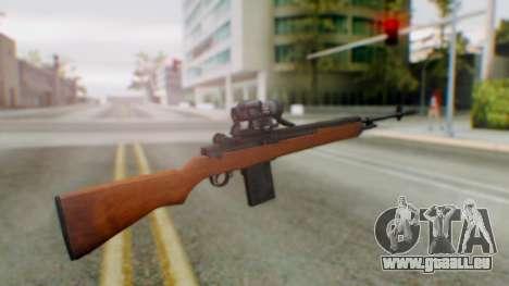 Arma2 M14 Sniper pour GTA San Andreas deuxième écran