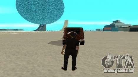 Une sortie rapide de transport pour GTA San Andreas deuxième écran