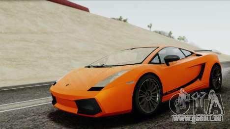 Lamborghini Gallardo Superleggera für GTA San Andreas