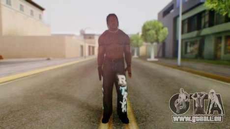 R Truth pour GTA San Andreas deuxième écran