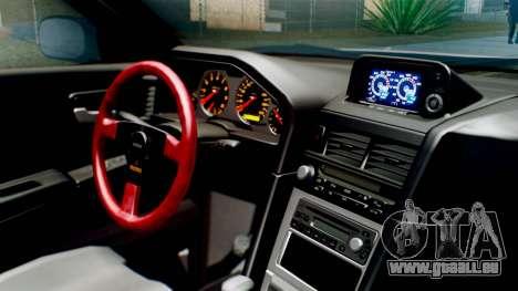 Nissan Skyline GT-R R34 RAID Spec für GTA San Andreas rechten Ansicht
