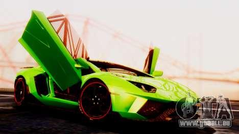 Lamborghini Aventador Mansory pour GTA San Andreas