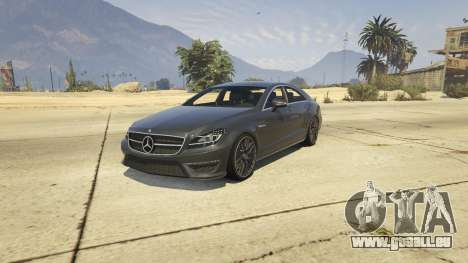 Mercedes-Benz CLS 63 AMG v.1.2 für GTA 5