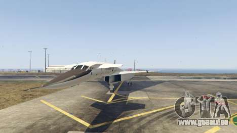 GTA 5 XB-70 Valkyrie zweite Screenshot