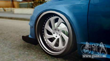 Audi RS6 Avant 2009 pour GTA San Andreas vue de droite