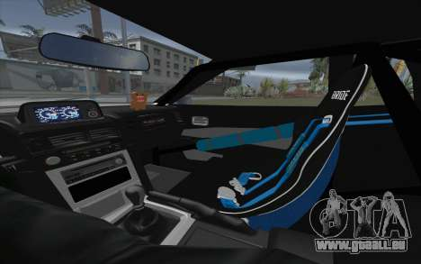 Elegy Drift King GT-1 [2.0] für GTA San Andreas Innenansicht