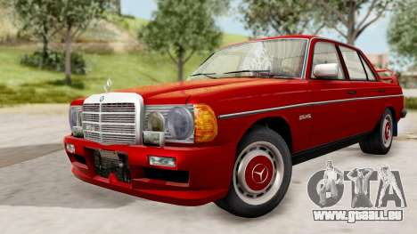 Mercedes-Benz 230E AMG 3.2 1982 Evolution Mod pour GTA San Andreas