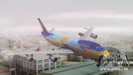 Boeing 747-400 Singapore Airlines Tropical PJ für GTA San Andreas
