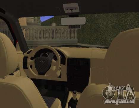 VAZ 2110 KBR pour GTA San Andreas vue arrière