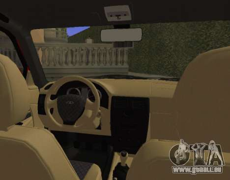 VAZ 2110 KBR für GTA San Andreas Rückansicht