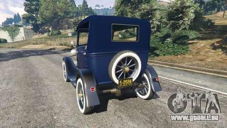 Ford Model T 1927 [Tin Lizzie] pour GTA 5