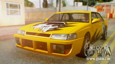 Sultan Винил из Need For Speed ProStreet für GTA San Andreas