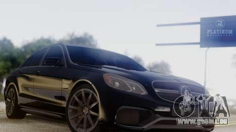 Mercedes-Benz E63 AMG PML Edition pour GTA San Andreas vue de droite