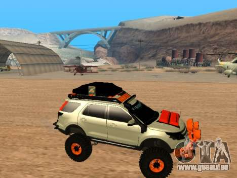 Ford Explorer 2013 Off Road pour GTA San Andreas