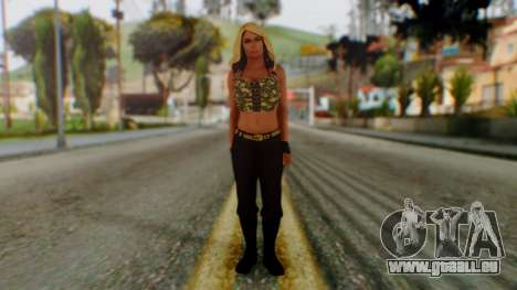 WWE Kaitlyn pour GTA San Andreas deuxième écran