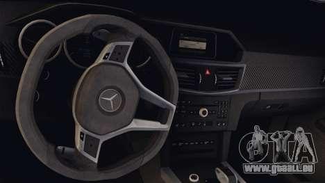 Mercedes-Benz E63 AMG PML Edition pour GTA San Andreas vue intérieure