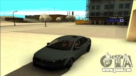 Volkswagen Polo für GTA San Andreas Seitenansicht