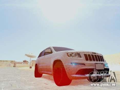 Jeep Grand Cherokee SRT8 2013 Tuning pour GTA San Andreas