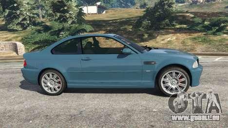 GTA 5 BMW M3 (E46) 2005 linke Seitenansicht