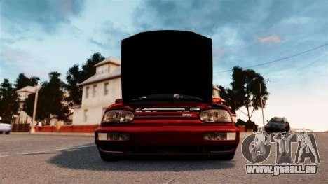 Volkswagen Golf VR6 1998 DTD Tuned pour GTA 4 est un droit