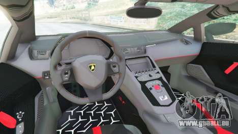 Lamborghini Aventador Super Veloce v0.2 pour GTA 5