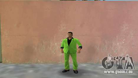Grünen Anzug von Tommy für GTA Vice City