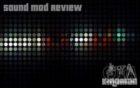 SA Sound Overhaul Mod 2013 pour GTA San Andreas