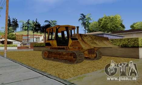 New Dozer pour GTA San Andreas laissé vue