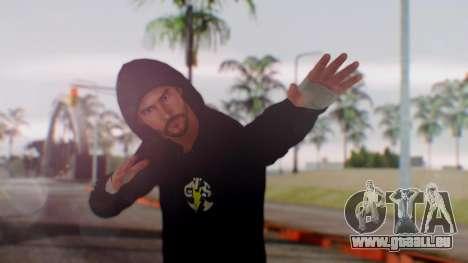 CM Punk 1 pour GTA San Andreas