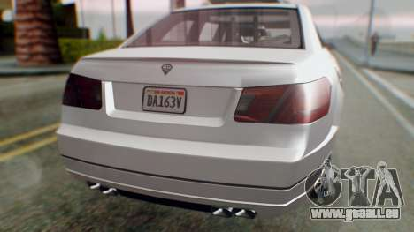 GTA 5 Benefactor Stretch E Turreted IVF pour GTA San Andreas vue intérieure