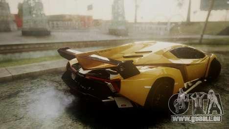 Lamborghini Veneno 2012 für GTA San Andreas rechten Ansicht