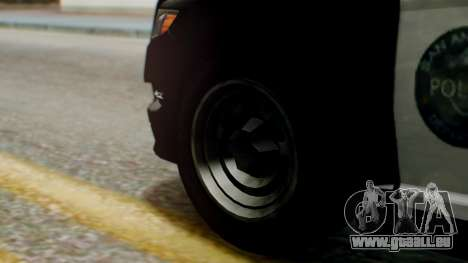 GTA 5 Police LS für GTA San Andreas zurück linke Ansicht