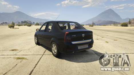 2008 Dacia Logan v2.0 FINAL für GTA 5