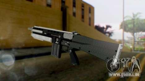 GTA 5 Assault Shotgun - Misterix 4 Weapons pour GTA San Andreas deuxième écran