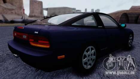 Nissan 240SX SE 1994 Stock pour GTA San Andreas laissé vue