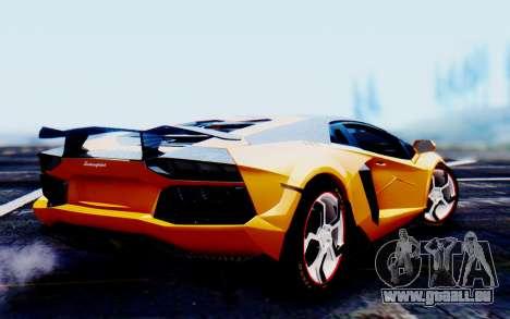 Lamborghini Aventador Mansory Carbonado Color pour GTA San Andreas laissé vue