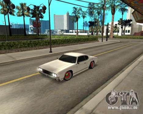 Sabre Boso für GTA San Andreas