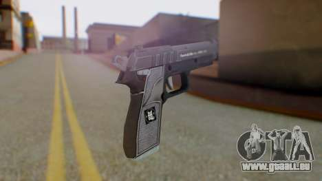 GTA 5 Pistol - Misterix 4 Weapons für GTA San Andreas zweiten Screenshot